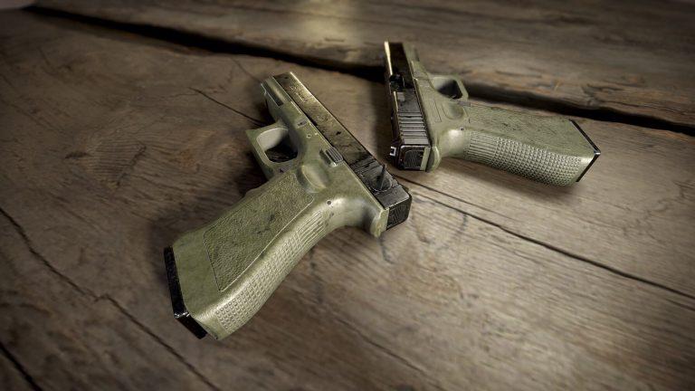 пистолет P18C