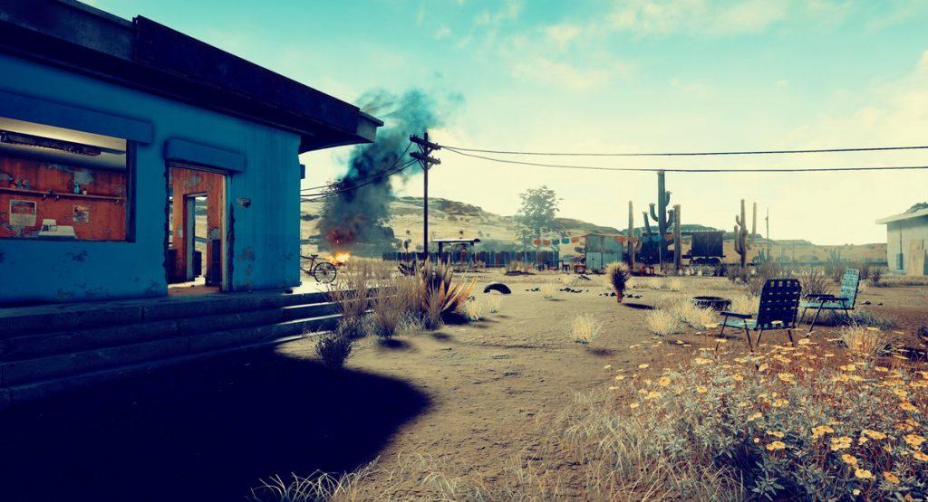 новая пустынная карта playerunknown's battlegrounds