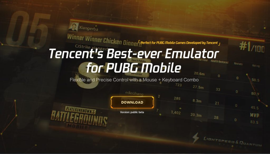 эмулятор pubg mobile
