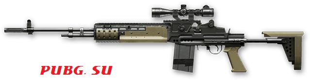 MK 14 EBR 7.62 в PUBG